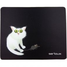 MOUSE PAD SERIOUX MODEL CAT AND MICE SRXA-MSP02