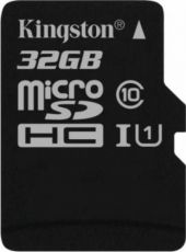 MICRO SD KINGSTON 32GB CANVAS SELECT 80R CLASA 10 UHS-I SDCS/32GBSP