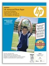 HARTIE CERNEALA HP PHOTO ADVANCED GLOSSY A4 25COLI 250G Q5456A