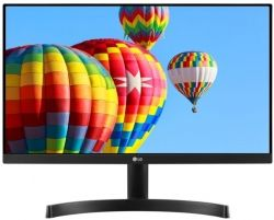 "MONITOR LG LED 23.8"" 24MK600M-B IPS FULL HD BLACK"