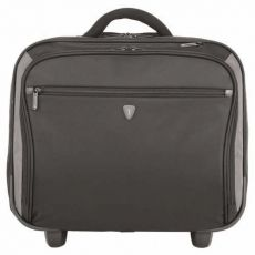 "GEANTA LAPTOP SUMDEX TROLLEY PILOT CABIN 16"" GREY BLACK POR-359GY"