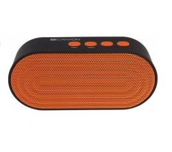 BOXA PORTABILA CANYON CNE-CBTSP3BO BLUETOOTH V4.2+EDR BLACK ORANGE